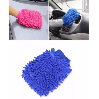 Găng tay san hô lau rửa vệ sinh xe SM194
