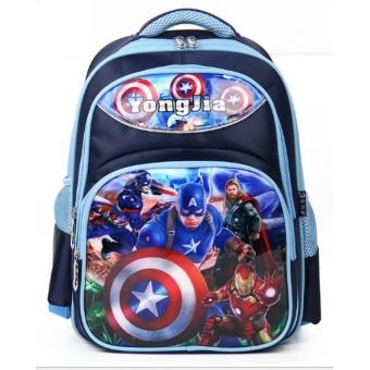 Ba lô học sinh hình các siêu anh hùng cho học sinh cấp 1, cấp 2