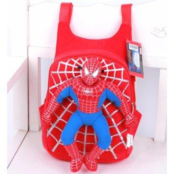 Balo người nhện spider men cho bé BL014B