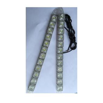 Đèn chạy ban ngày loại 12 bóng Led (Daytime Running Lights)