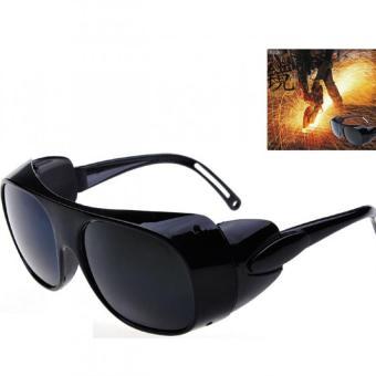 Kính hàn xì bảo vệ mắt khi lao động H110-Đen