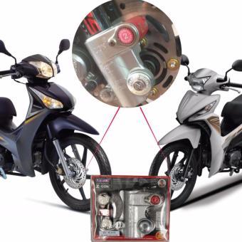 Khóa đĩa chống trộm xe máy, heo dầu Future/Wave