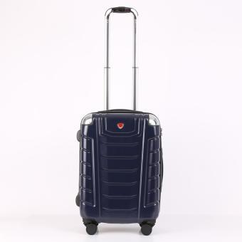 Vali nhựa khung dây kéo BERYL SUITCASE Z22 (Xanh)