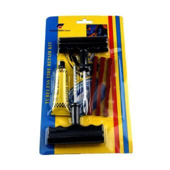 Bộ sản phẩm vá vỏ xe không ruột cao cấp Tire Plugs Insert Tool