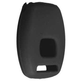 2 Button Silicone Remote Key case Fob Protector Cover For Honda Accord Civic Black