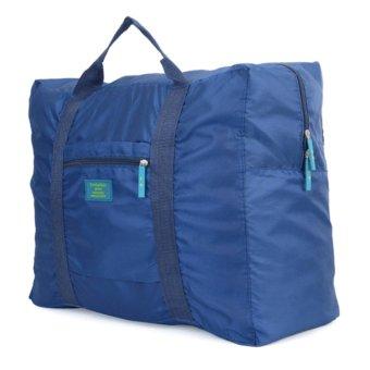 Túi du lịch đa năng gắn vali kéo (xanh đậm)