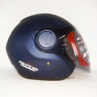 Mũ bảo hiểm GRS A649K (Xanh nhám)