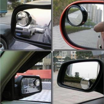 Bộ 2 gương phụ gắn gương chiếu hậu góc mù ô tô 206190
