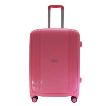 Vali kéo du lịch nhựa Composite siêu dẻo size nhỏ 5 tấc TA0076 (Hồng)