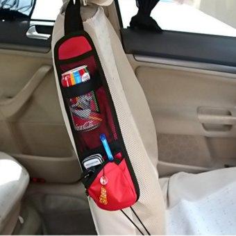 Túi treo ghế ô tô đựng đồ tiện ích HQ206142 -2 (đỏ)