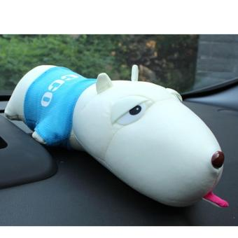 Cún bông than hoạt tính lọc không khí xe hơi phòng ngủ (Xanh da trời)