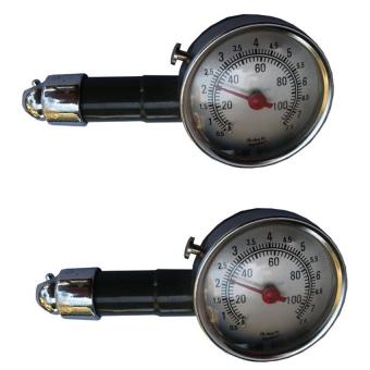 Bộ 2 đồng hồ đo áp suất lốp xe Handomart HDM317 (Đen)