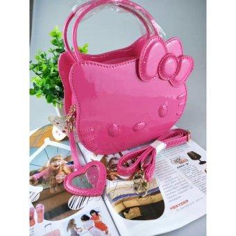 Túi Đeo Chéo Hello Kitty màu HỔNG 90-HĐ1138 dành cho BÉ GÁI