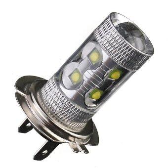H7 LED Car DRL Headlight Light DC12V (White) (Intl)