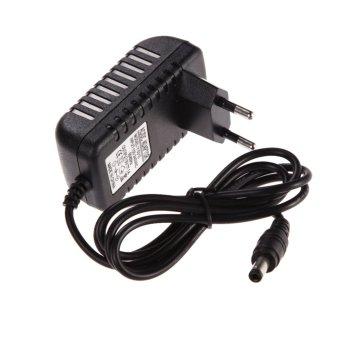 AC 100-240V Converter Adapter DC 5.5 x 2.5MM 3V 1A 1000mA Charger EU Plug (Black)(Intl)