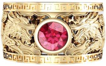 Nhẫn nam mạ vàng 14k NNAM51