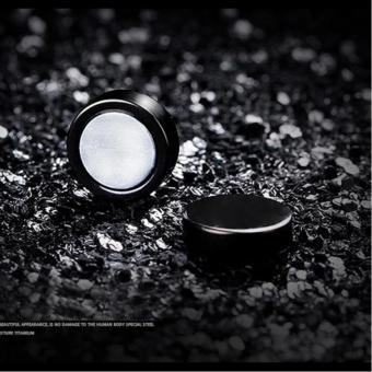 Bộ Bông tai Nam châm hình tròn bằng inox NC108