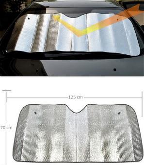 Che chắn nắng phản quang gấp trên ô tô 125x70cm SM92 (Họa tiết)