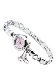 Đồng hồ nữ dây thép không gỉ Kimio KI003 (Hồng)