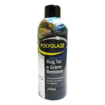 Chất tẩy sạch vết bẩn ô tô cứng đầu Polyglaze Bug,Tar & Grime Remover 250ml (Xám Đen)