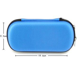 niceEshop Big Capacity USB Flash Drive Bag, Digital Gadget Case, Blue - intl