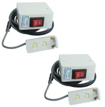 Bộ 2 cái đèn máy may siêu sáng anpha Light V-anphaLight (Trắng)