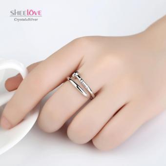 Nhẫn nữ kiểu dáng cây đinh cổ điển sang trọng freesize SPR-JZ027