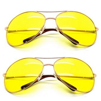 Bộ đôi kính mắt nam nhìn xuyên đêm TTP-101(Vàng)