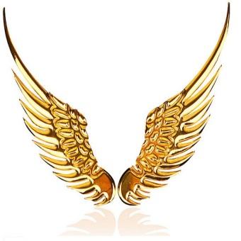Cánh inox dán (Vàng)