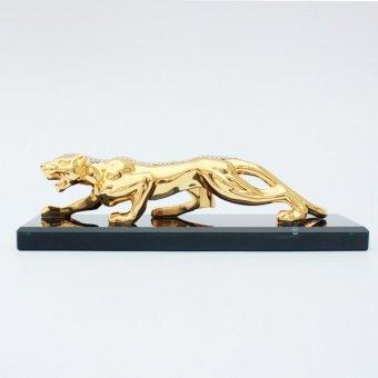 Đồ trang trí trên xe ô tô hình con Báo (Vàng)