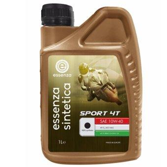 Dầu nhớt động cơ Ý cho xe máy essenza sintetica Sport 4T SAE 10W-40 (1 Lít)