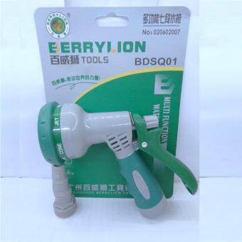 Súng xịt nước 7 kiểu đầu nhựa Berrylion - 020602007