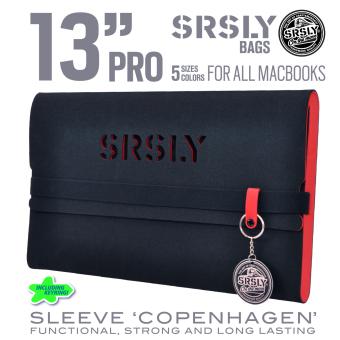 Túi chống sốc SRSLY cho MacBook Pro 13 inch (Đỏ Đen)