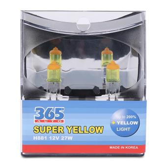 Bóng đèn phá sương 365-Auto H27/2 Super Yellow (Vàng)