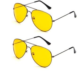Bộ đôi kính mắt vàng nhìn xuyên đêm PA102.