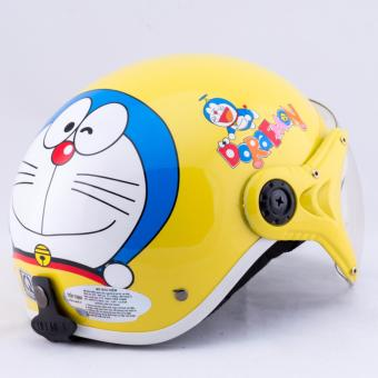 Mũ bảo hiểm cho bé hình Doremon cao cấp