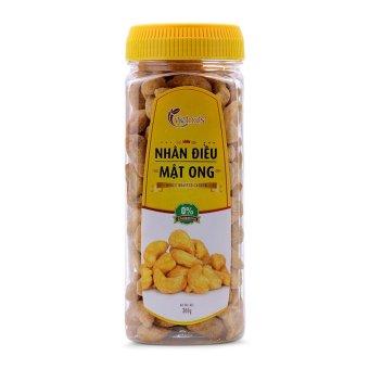 Nhân điều mật ong Vietnuts hộp nhựa 300g