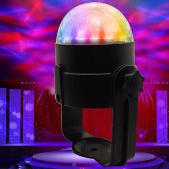 Đèn DJ cảm biến âm thanh trên xe hơi.