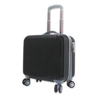 Vali kéo nhựa siêu nhẹ Pilot kiểu vuông sang trọng màu đen TA195