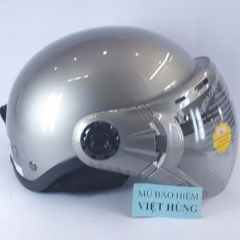 Mũ bảo hiểm GRS A33K (Xám bóng)