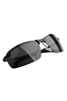 Bluelans Polarized Sunglasses (Black) (Intl)
