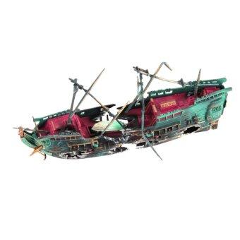 Aquarium Air Split Shipwreck Decor