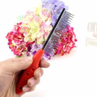 Lược chải lông chó 2 lớp răng