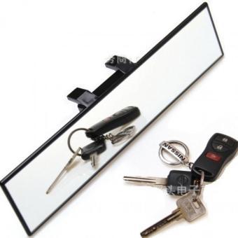 Gương chiếu hậu siêu lồi trong xe cho xe hơi Senviet SV77 (Đen)