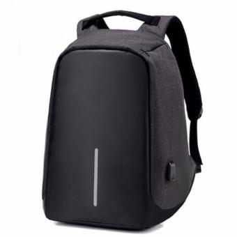 Balo laptop chống trộm DXYZ 1701 đen (tặng cáp USB)