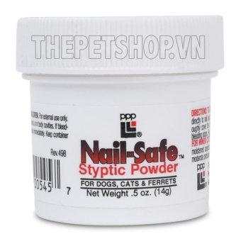 Bột cầm máu dùng trong cắt móng - Nail Safe Styptic Powder 14g
