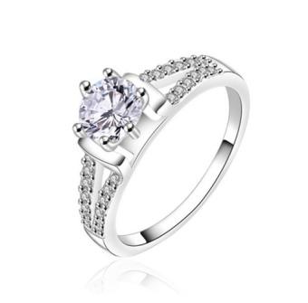 Nhẫn Bạc nữ đẹp NU04