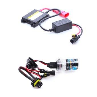 Bộ đèn xenon HID H11 xe ôtô 35W 4300K (Vàng trắng)