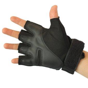 Găng tay nửa ngón QuickCell Biker (Đen) - Size M