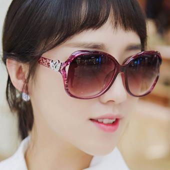 Kính mát nữ thời trangphong cách Hàn Quốc siêu Hot 2017 + tặng bao da K16